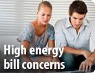 High Energy Bill Concerns